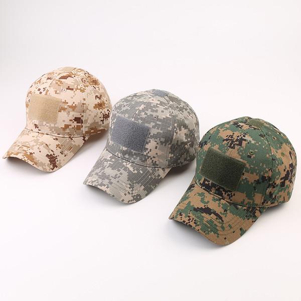 I fan esterno dell'esercito tattica mimetica tappo a strappo cappello di sport degli uomini del berretto da baseball di Python