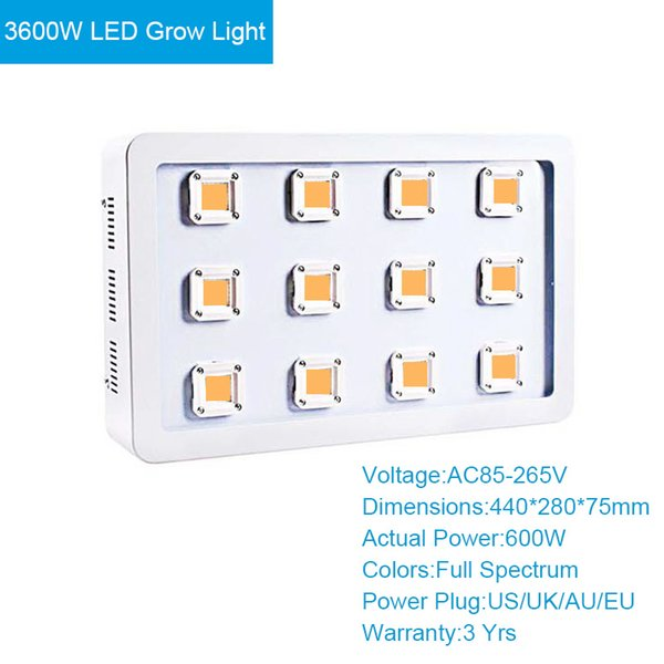 3600W LED Grow Light
