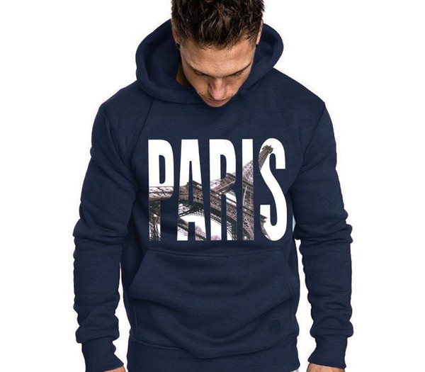 Mens Designer Hoodies Sweatshirts with France Paris Long Sleeved Luxury Hoodies Streetwear Coats for Men Brand Sweater Clothing S-2XL