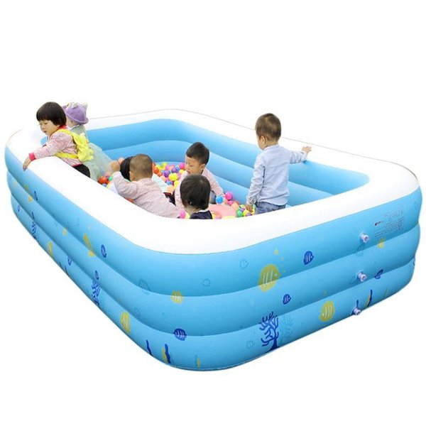 Thickening Giant Inflatable Swimming Pool For Adults Children Baby Family Summer Water Entertainment Bathing Bathtub New Popular