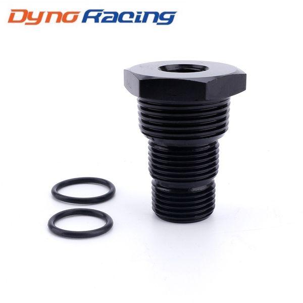 top popular Universal Black Automotive Threaded Oil Filter Adapter 1 2-28 to 3 4-16 13 16-16 3 4NPT Aluminum Car Nut TT101283 2021