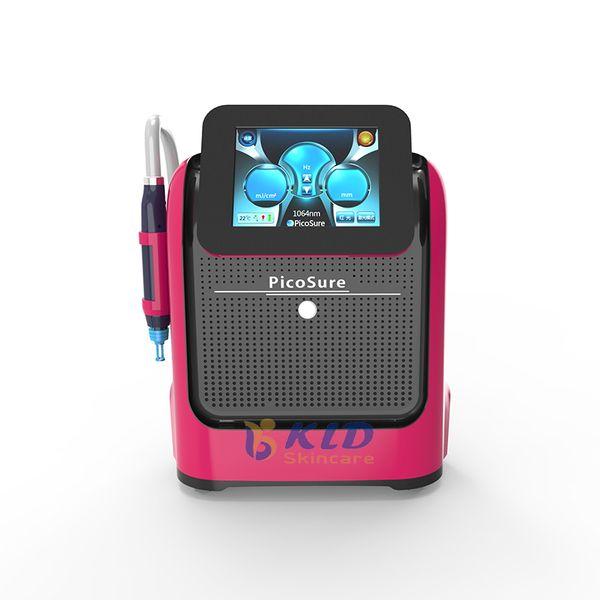 Neue effektive 755nm 1064nm 532nm 1320nm Picocare Laser Tattoo Entfernung Maschine Laser Whitening Maschine Salon verwenden versandkostenfrei
