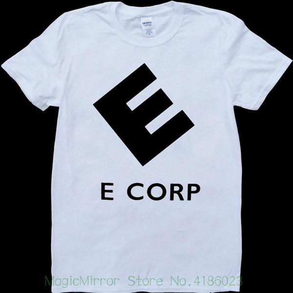 Mr Robot F Sociedade E Corp Cartaz Mens Branco, Custom Made T-shirt Casual T-shirt Masculino Padrão de Manga Curta