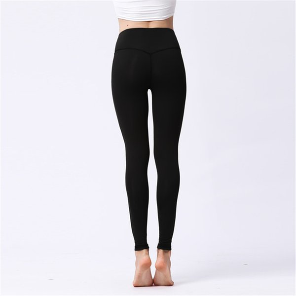 6781415b2b3 2019 Womens Sports Yoga Pants High Waisted Workout Leggings Hips Push Up  Pants Fitness Running Dance Trousers Mesh Stitching Tights Skinny Pants  From ...
