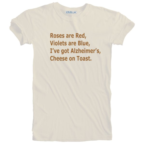 3ac37fb51e New Humorous Funny Alzheimer's Cheese on Toast T-shirt Sizes S - 5XL Plus  SizeFunny