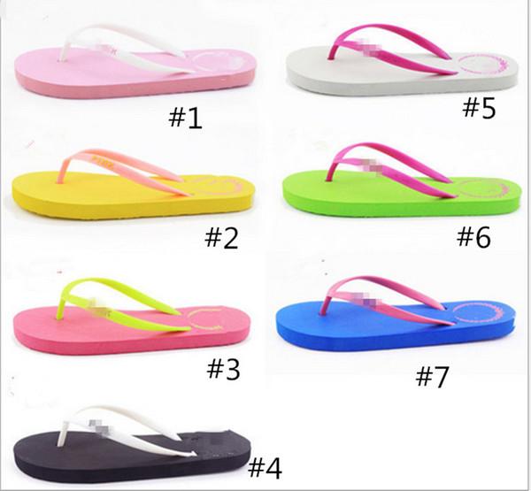 Marka Tasarımcısı Ayakkabı Flip-Flop P Mektup Baskı Terlik Yaz Ayakkabı Büyük Çocuk Ve kadın Için Boyutu Klasik Butik Düz Renk sıcak B371