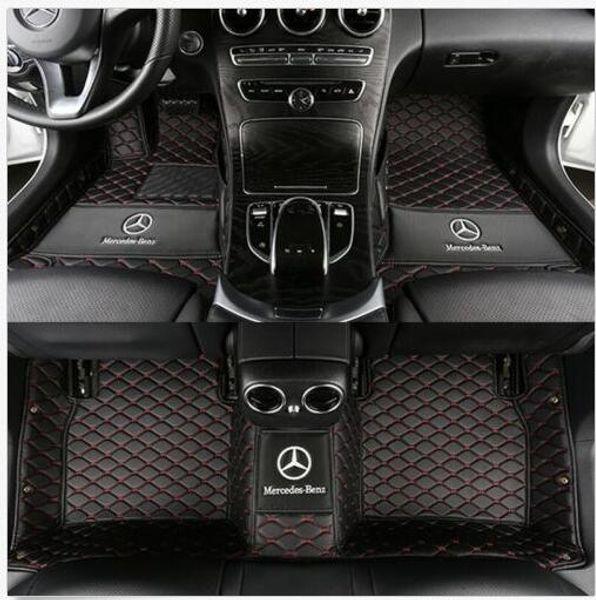 Mercedes Benz Floor Mats >> 2019 For All Models Mercedes Benz C Class 2010 2018floor Mats Non Toxic And Inod Waterproof Non Slip Carpets Floor Mat Non Toxic And Inodorous From