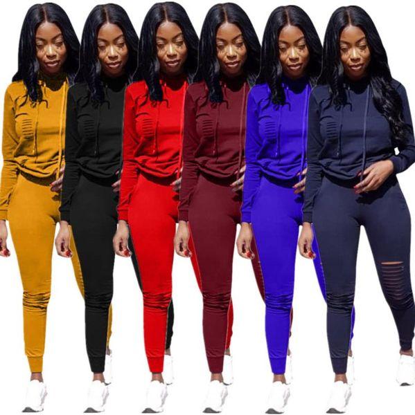 Womens 2 stücke Designer Anzüge Kleidung Big C Frauen Trainingsanzüge Mode Hoodies Hosen Sport Sets