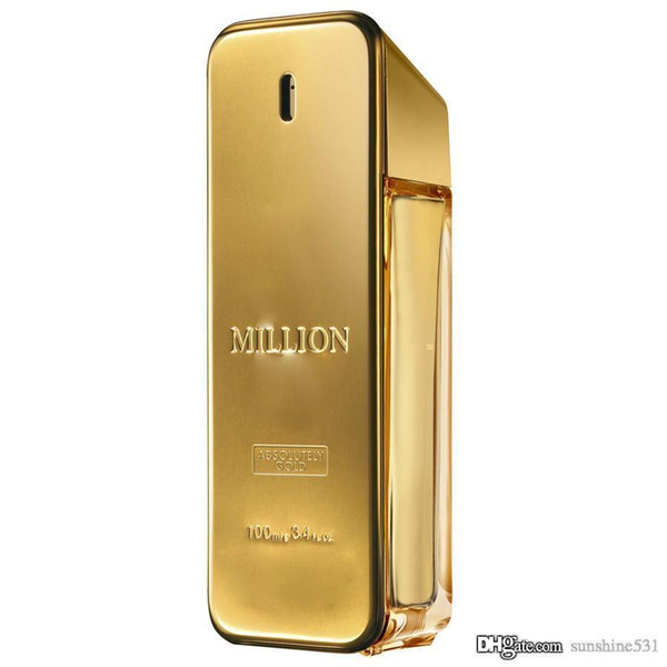Perfume Gold Million Men Eau de Toilette 100ml EDT Male Aromatherapy Spray Floral Fragrance Fresh and Natural Free Shipping