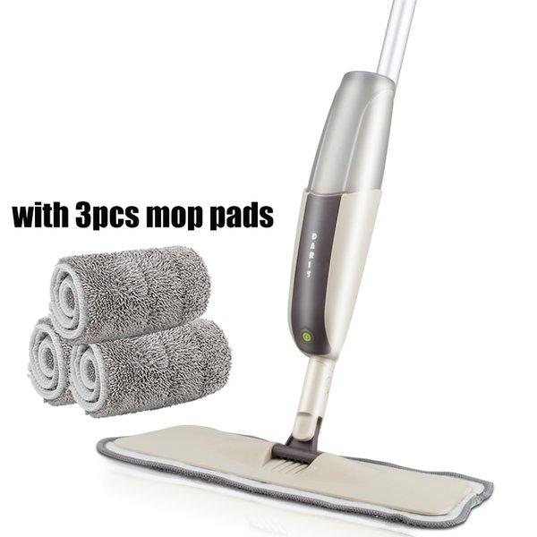 grey 1mop 3 rags