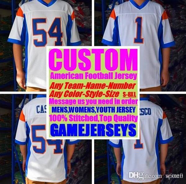 All Stitched Custom american football jerseys Washington Miami college authentic cheap baseball basketball mens womens youth USA 4xl tshirts