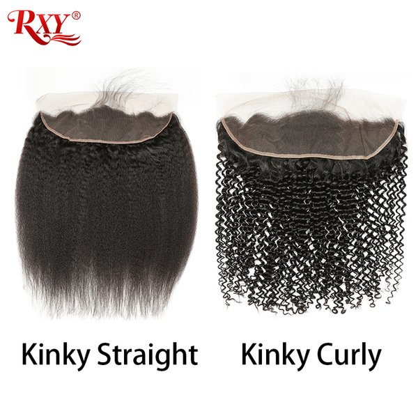4x13 Lace Frontal Closure Pre Plucked With Baby Hair Straight Body Wave Kinky Curly Deep Wave Kinky Straight Loose Deep Water Wave