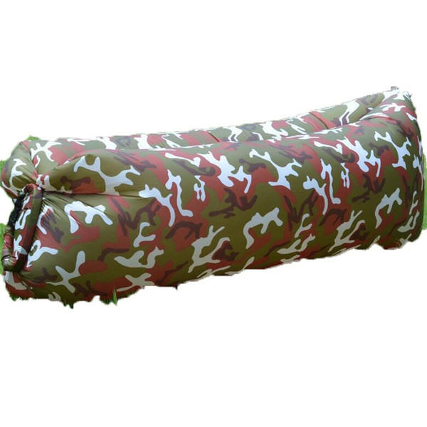 Excellent Camo Rainbow Inflatable Sofa Foldable Outdoor Camping Sleeping Bag Lazy Person Inflation Bed Water Proof Oxford Cloth 35Xw C1 Buy Clothes Online Two Frankydiablos Diy Chair Ideas Frankydiabloscom