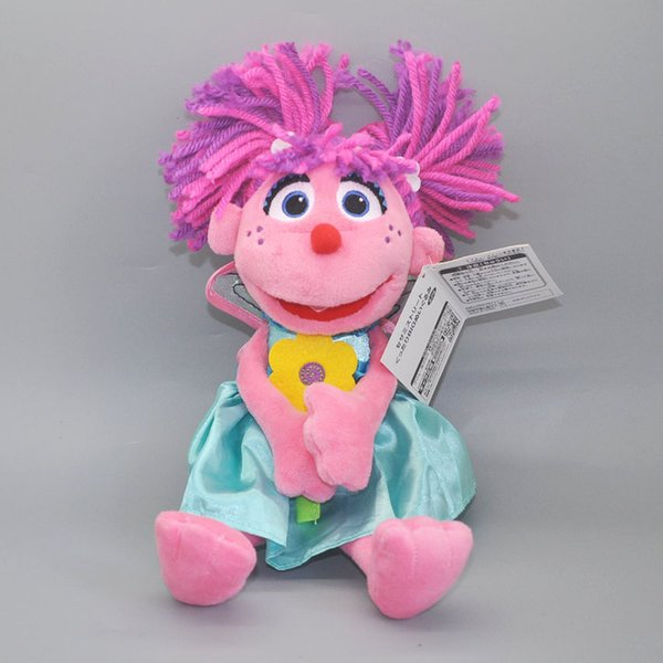 2019 Ems Sesame Street Abby Cadabby Fairy Angel 25cm Plush Doll Best Gift Soft Stuffed Toy From Uubees 10 49 Dhgate Com