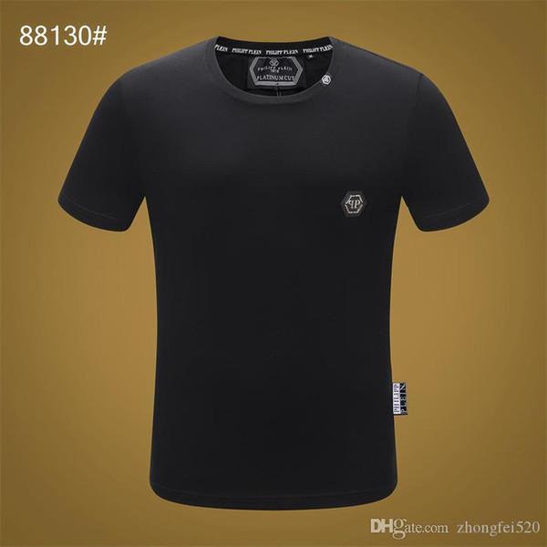 Camisa dos homens 2019 verão Nova T-shirt Europa e América T-shirt dos homens moda hip hop impressão skul algodão T-shirt dos homens H19