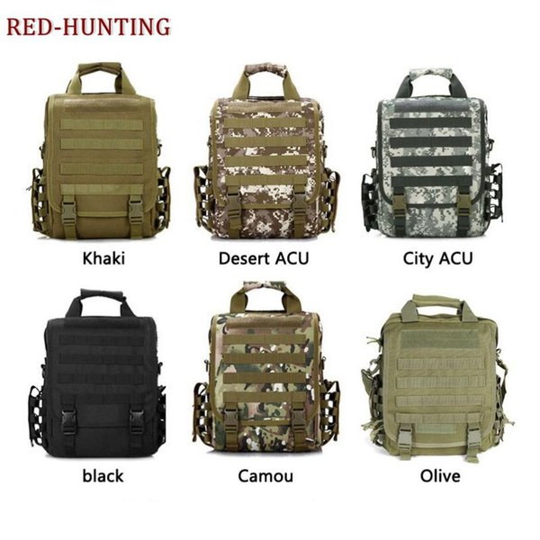 Hunting Hiking Camping 14'' Inch Laptop Bag Army Tactical Men Women Outdoor Sports Molle Backpack Accessories