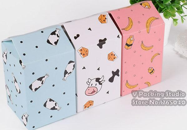 7 * 7 * 12 cm Casa em forma de caixa de doces de papel Macaroon doces caixa de Embalagem Do Dia Dos Namorados Caixas de Presente Do Favor Do Casamento torta sacos de Festa