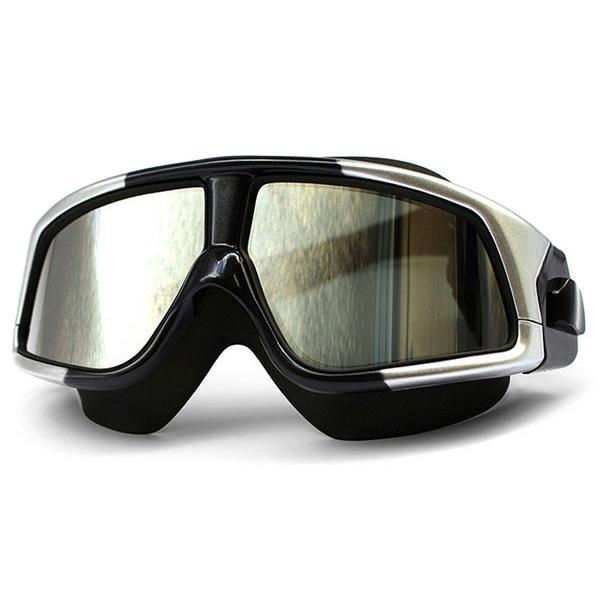 f09c85ccc Compre Óculos De Natação Confortável Silicone Grande Quadro Óculos ...