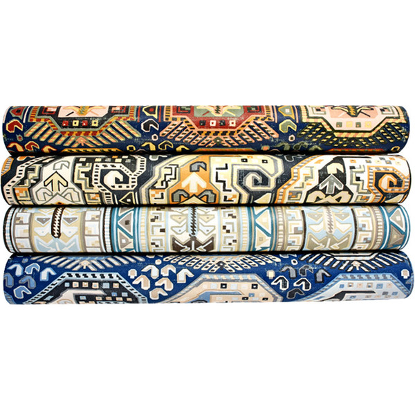 3D Distinctive faux tile colorful wallpaper bohemian ethnic style living room bedroom wall special pattern personality household wall