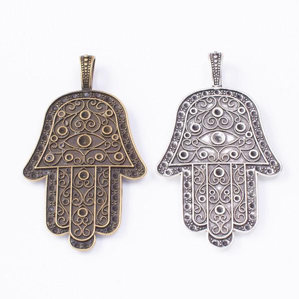 10PCS Tibetan Silver Christmas Bell Pendants Charms DIY Jewelry Findings