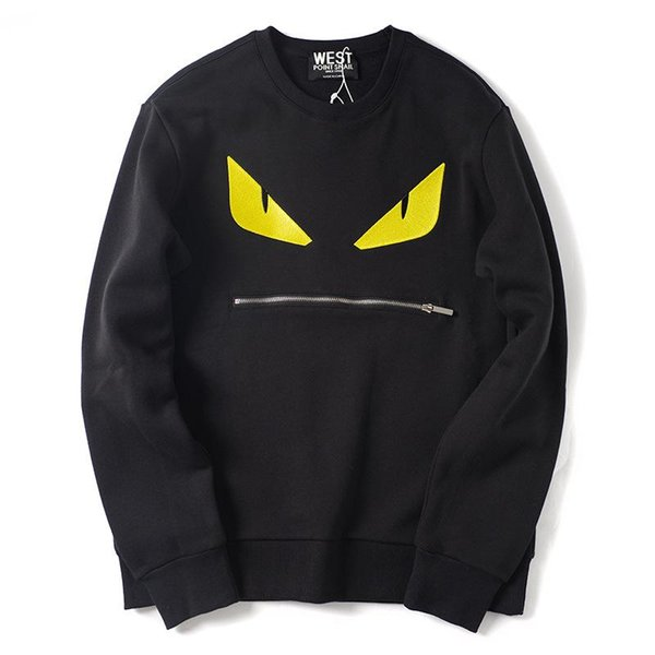 2019 New Fashion Hoodie Men Sport Sweatshirt Blend Designer Hoodie Pullover little Monster Printed Long Sleeve Streetwear Plus Size S-XL