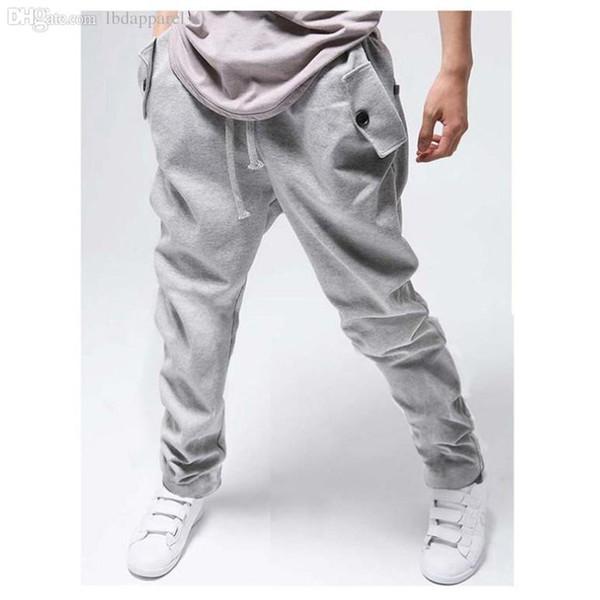 Cargo jogging men sweatpants cotton men's hip hop sports harem jogger Cool Harempants mens Joggers Drawstring sweat pants