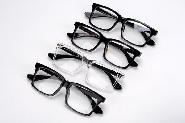Neue koreanische Version des Trends der Low-Vision-Brillengestell Mode Brillengestell Platte Brillengestell kann mit Myopie Flachspiegel ausgestattet werden