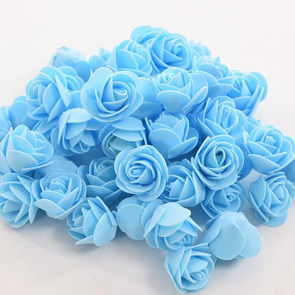 150 adet çiçek mavisi