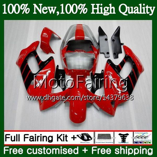 Кузова для Honda VTR1000F SuperHawk завод Красный 97 98 99 00 01 64MF3 VTR1000 F в Втр 1000 Ф 1000F 1997 1998 1999 2000 2001 обтекателя кузова