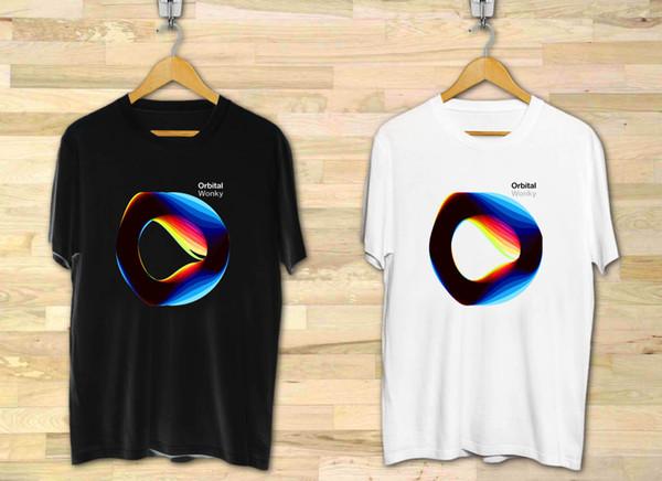 Orbital Electronic Dance Duo Band Wonky Hommes Noir T-Shirt XS à 3XL Drôle livraison gratuite Unisexe Casual top