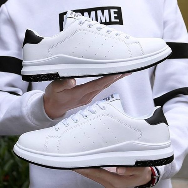 Plus Size 35-46 Donna Uomo Scarpe Bianche Sneakers Uomo Donna Vulcanize Scarpe Primavera Autunno Krasovki Donna Scarpe casual Scarpe da ginnastica Tenis Feminino