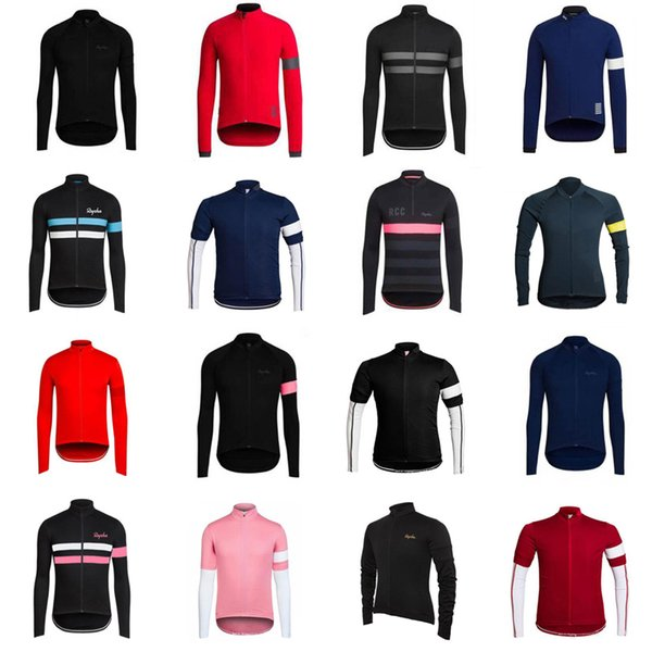 RAPHA team cyclisme manches longues maillot cyclisme maillot d'été séchage rapide respirant Team vtt camisa de ciclismo D719
