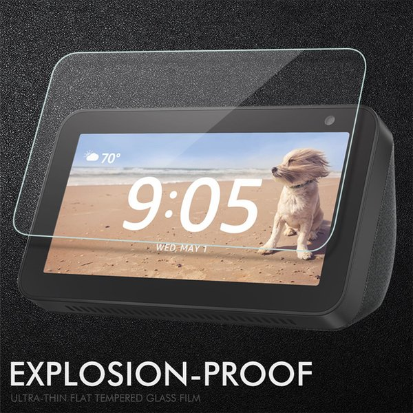 best selling Screen Protector For Amazon Echo Show 5 Tempered Glass 9H Glass For Amazon Echo Show 5 8.0 inch Protective Film