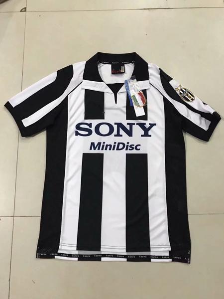 buy popular 6b0e6 d823b 2019 Juventus Edition Soccer Jersey 97 98 Retro RONALDO DYBALA MANDZUKIC  Anniversary Shirt Black White Green Blue 120 Th 1997 1998 From ...