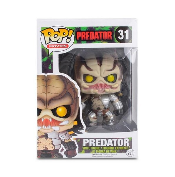 gs funko pop depredador vinyl action figure with box toy gift doll quality fot kids toys movie figures