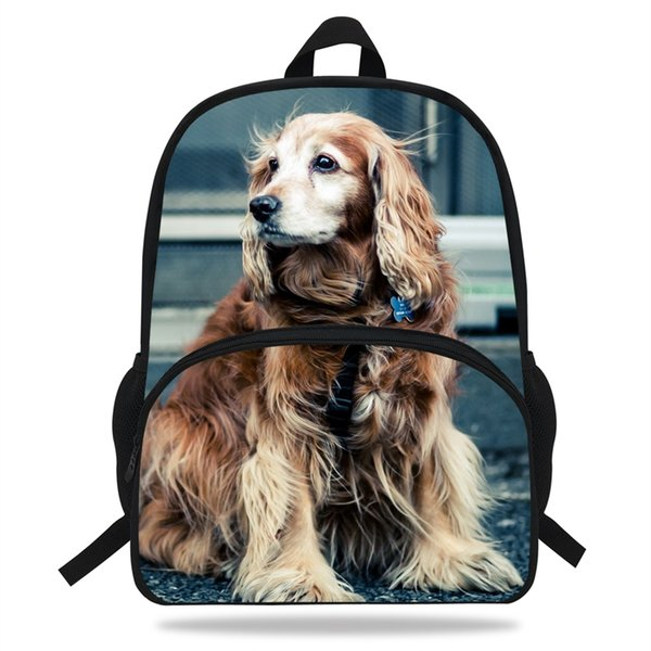 16-inch Mochila Fashion Animal Backpacks For Women Travel Bag Girls Cut Dog Backpack Gift Boys School bag Men Kids #33047