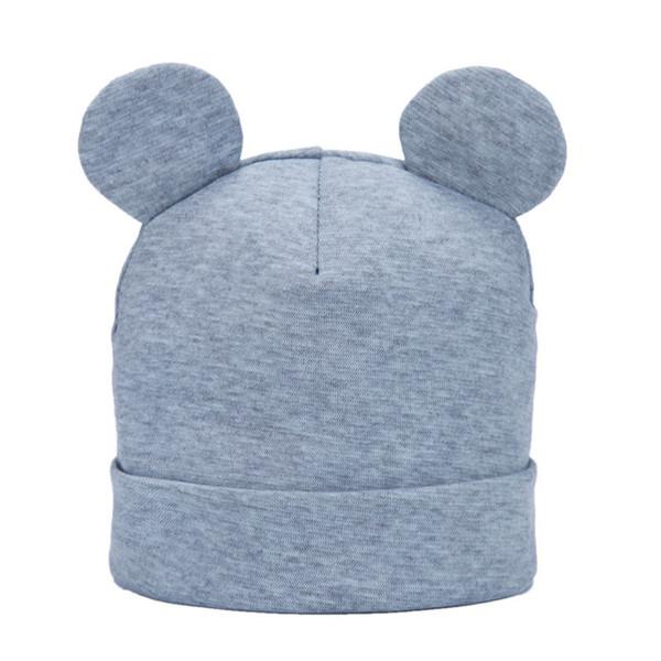 Bnaturalwell bebê Cap algodão de malha Beanie Chapéus para a criança das meninas do menino Primavera Outono Inverno HeadwearWarm Cotton Hat Beanie