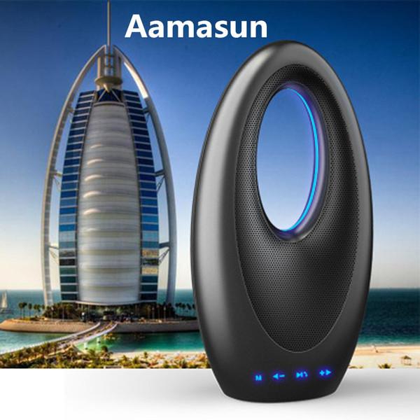 Aamasun Bluetooth-Lautsprecher mit UKW-Radio Freisprechfunktion Bootslampe Dubai Sailing Hotel Touch Bass Soundkarte Lautsprecher