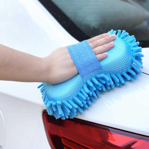 1pc Car Wash Gloves For Focus Fusion Escort Kuga Ecosport Fiesta Falcon Mondeo Taurus EVEREST