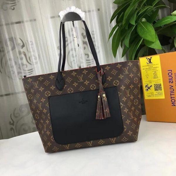 M40998 Fashion Black Shopping Luggages Women Cross Body Shoulder Bags Hobo Handbags Top Handles Boston Cross Body Messenger Shoulder