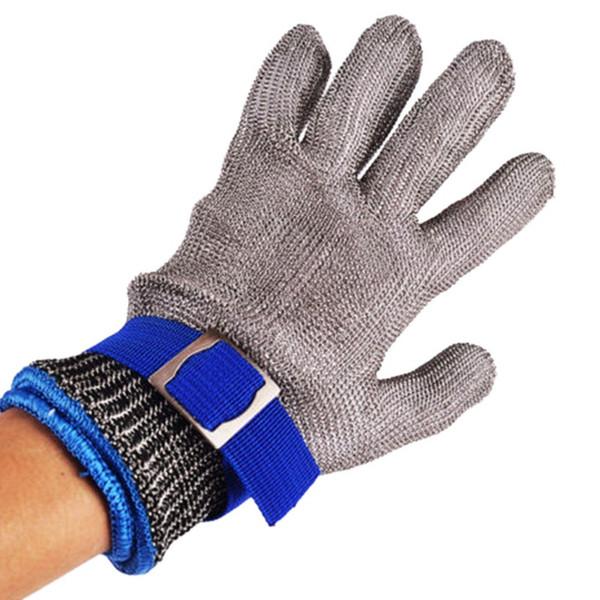 Горячая продажа нержавеющей стали класса 5 стальной проволоки PE стальное кольцо железные перчатки носить левый правый Горный на открытом воздухе 2018 новые