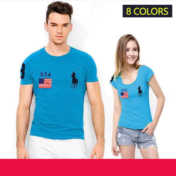 20198 nueva camiseta de alta calidad de los hombres camiseta Homme ropa de manga corta camiseta camisetas de algodón sólido para hombre camiseta de verano