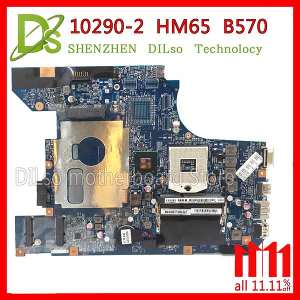 KEFU 10290-2 48.4PA01.021 placa mãe LZ57 MB para Lenovo B570 B570E motherboard V570 V570C motherboard Teste HM65 PGA989