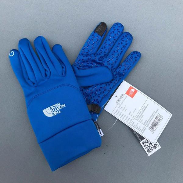 venta caliente del invierno Deportes de otoño guantes de pantalla táctil de esquí de fondo guantes hombre mujer cálida lana de fútbol