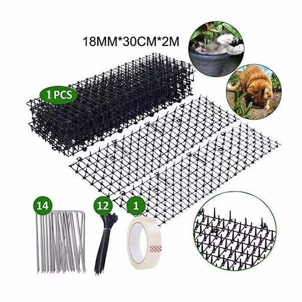 Multifunctional Garden Plastic Anti -cat Dorn Cat Dogs Molecular Protection Plastic Nails Dogs Rejective Mat Garden Delivered