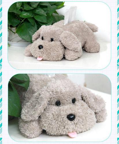Black Friend Deals Anime no ICE Victor Machinist Poodle Caixa de Tecido De Pelúcia Brinquedo Do Cão Caixa de Papel Caixas De Tecido