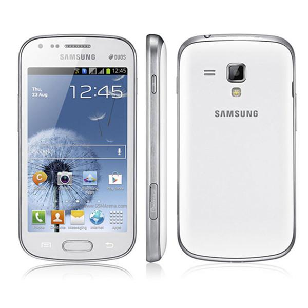 4.0inch Original Refurbished Samsung GALAXY Trend Duos S7562 S7562I SmartPhone Android4.0 WIFI GPS 5MP camera Unlocked phone 1500mah