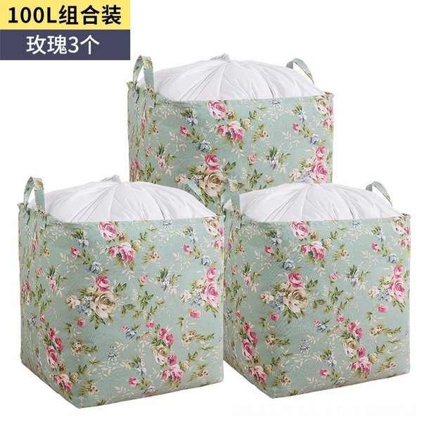 100L große Kapazität Lagerkorb (3 Ro