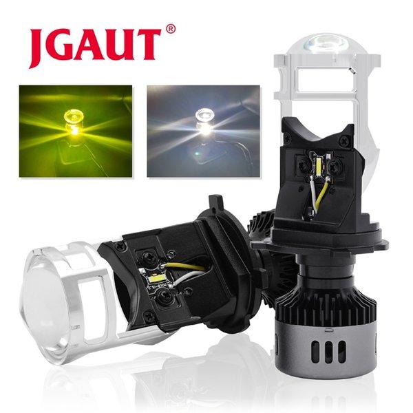 G6 Car Lights H4 LED Faro moto lampada 3000K 6500K Bianco Giallo mini obiettivo del proiettore Automoblies Lampadina Hi / Lo Beam 12V