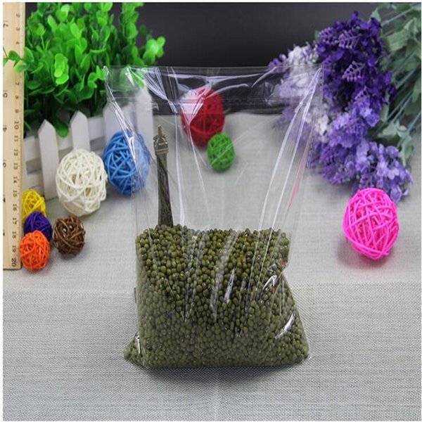 100 Pcs/Lot Resealable Cellophane OPP Poly Bags Self Adhesive Plastic Bag Self Adhesive Seal Bag Clear Resealable Cellophane